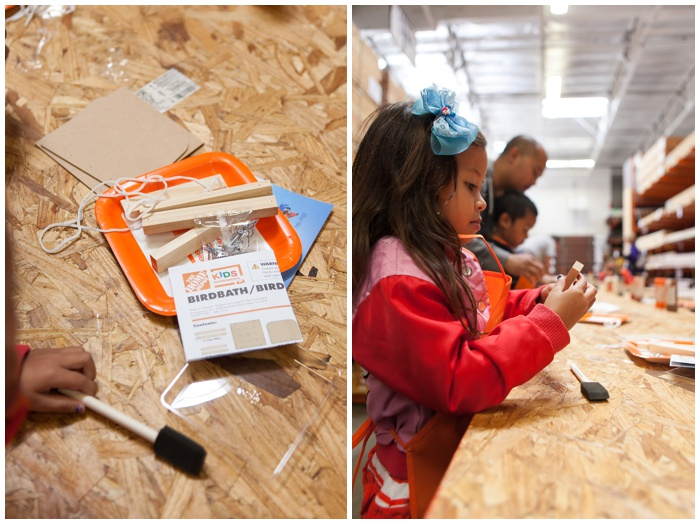 Kids workshop at the home depot nema photography for Kids crafts at home depot