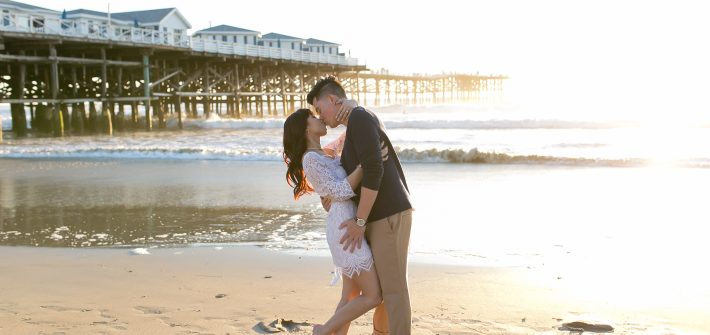 NEMA Photography Poeng Cuevas Engagement168 710x335 - Americus & Jessica // Crystal Pier, Pacific Beach