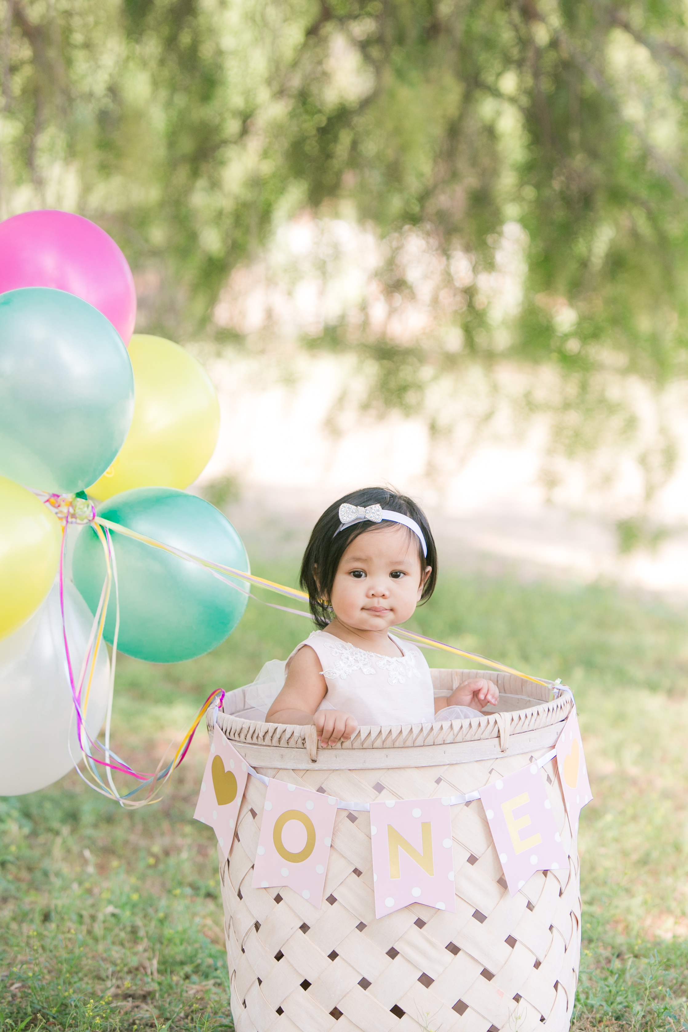 NEMA Photography J.Pham002 - Baby Justine // One year old portraits