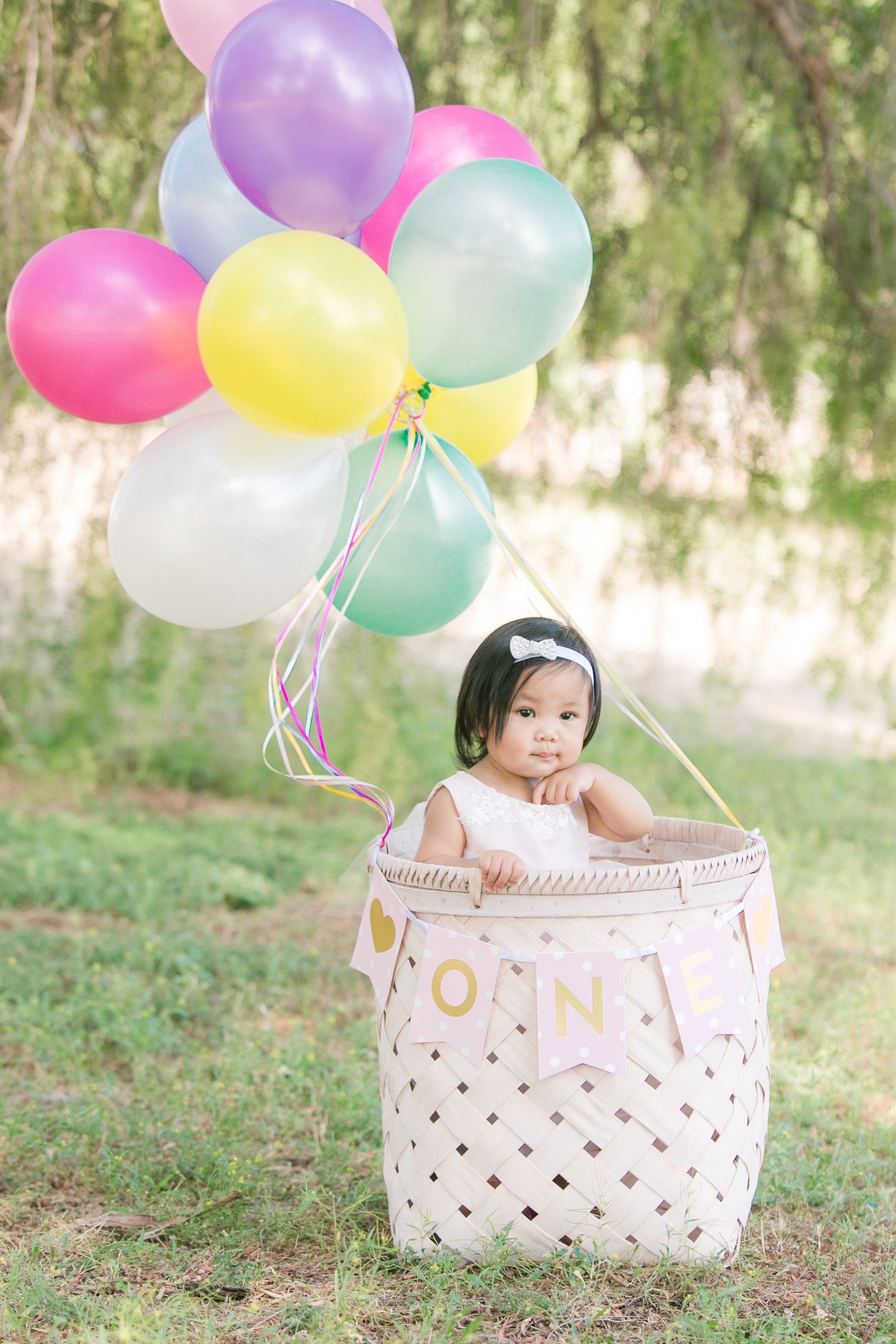 NEMA Photography J.Pham004 - Baby Justine // One year old portraits