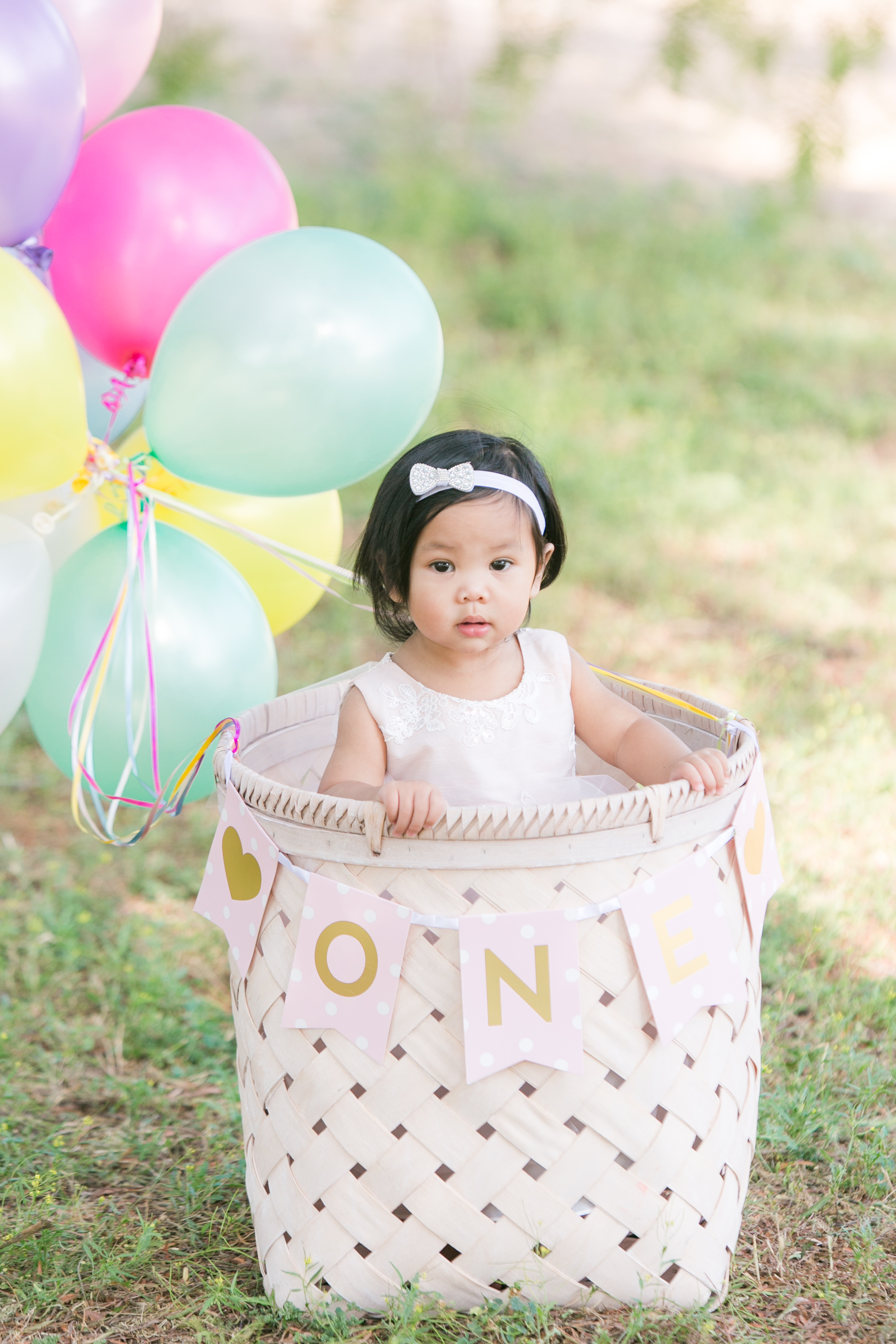 NEMA Photography J.Pham005 - Baby Justine // One year old portraits