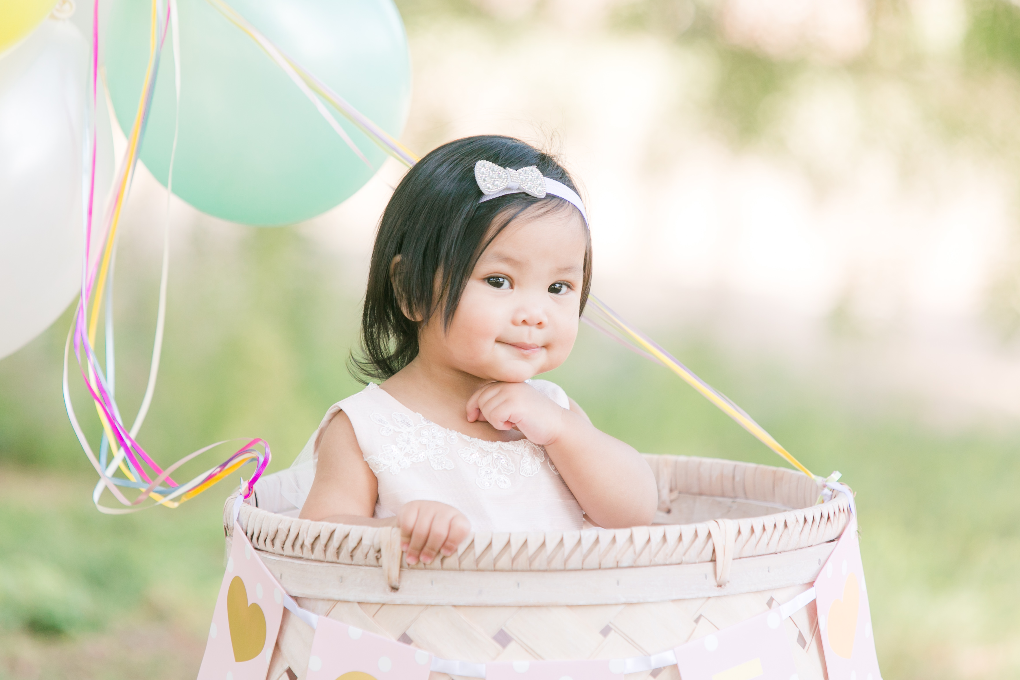 NEMA Photography J.Pham066 - Baby Justine // One year old portraits