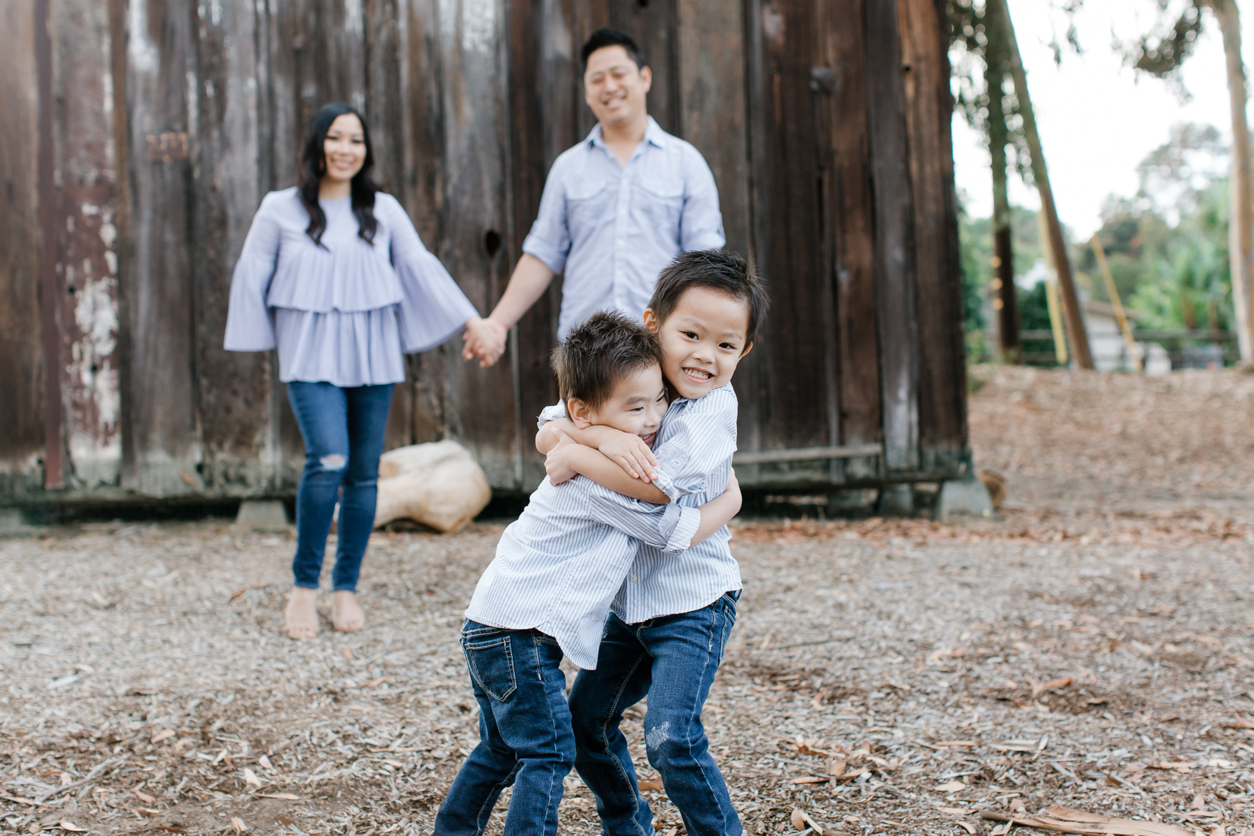 NEMA Photo Aileen Phu 2017078 - The Phu Family | San Diego Family Photographer | The Olivenhain Meeting Hall