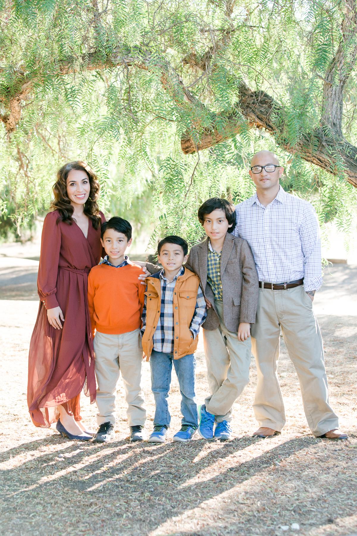 NEMA Photo I.Knightly008 - The Almodovar Family | Los Penasquitos canyon preserve | San Diego Photographer