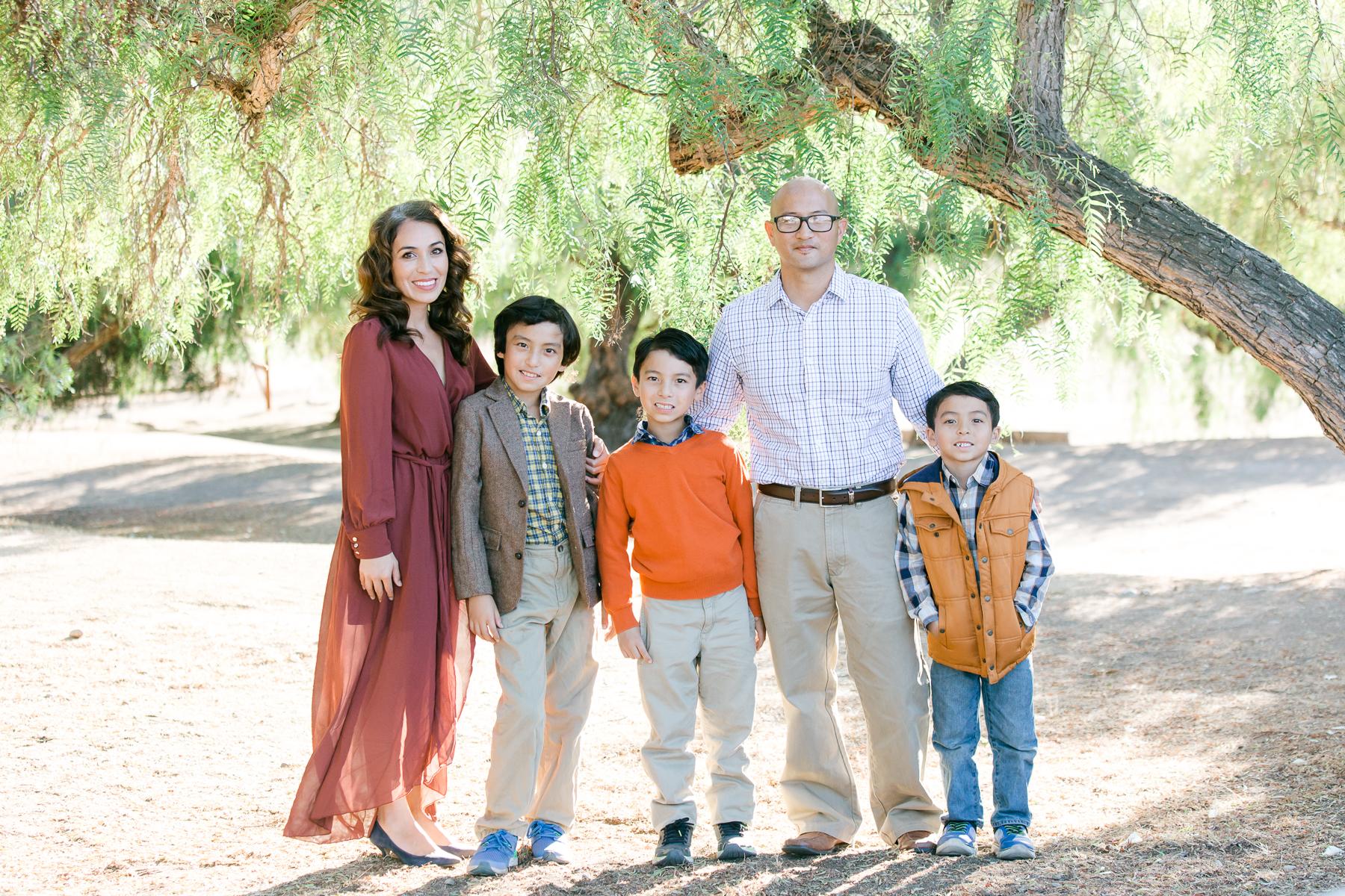 NEMA Photo I.Knightly011 - The Almodovar Family | Los Penasquitos canyon preserve | San Diego Photographer