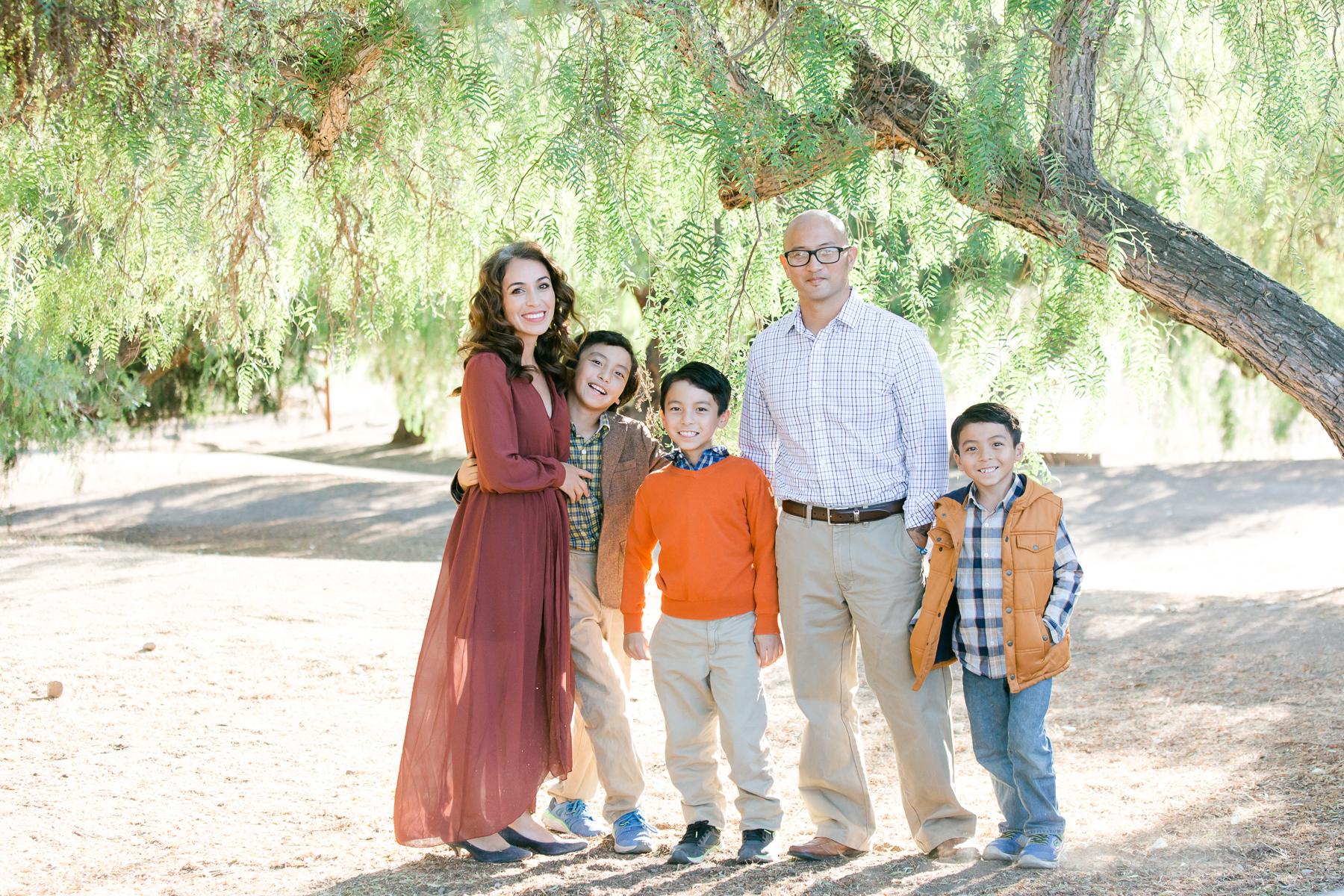 NEMA Photo I.Knightly024 - The Almodovar Family | Los Penasquitos canyon preserve | San Diego Photographer